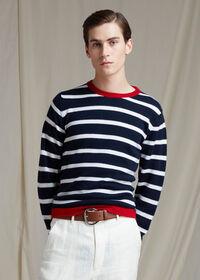 Cashmere Stripe Sweater, thumbnail 2