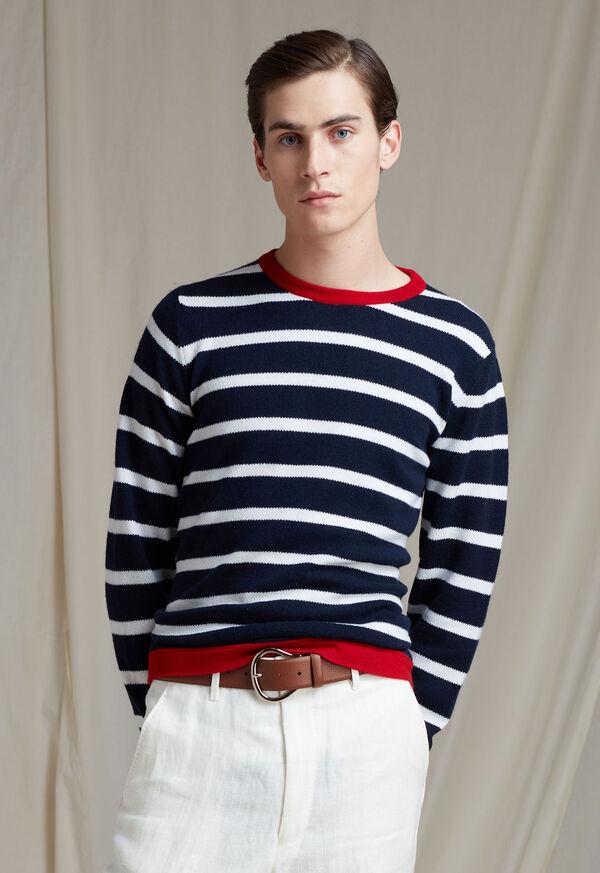 Cashmere Stripe Sweater, image 2