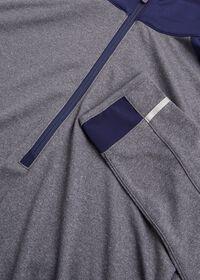 Melange Knit Quarter Zip, thumbnail 2