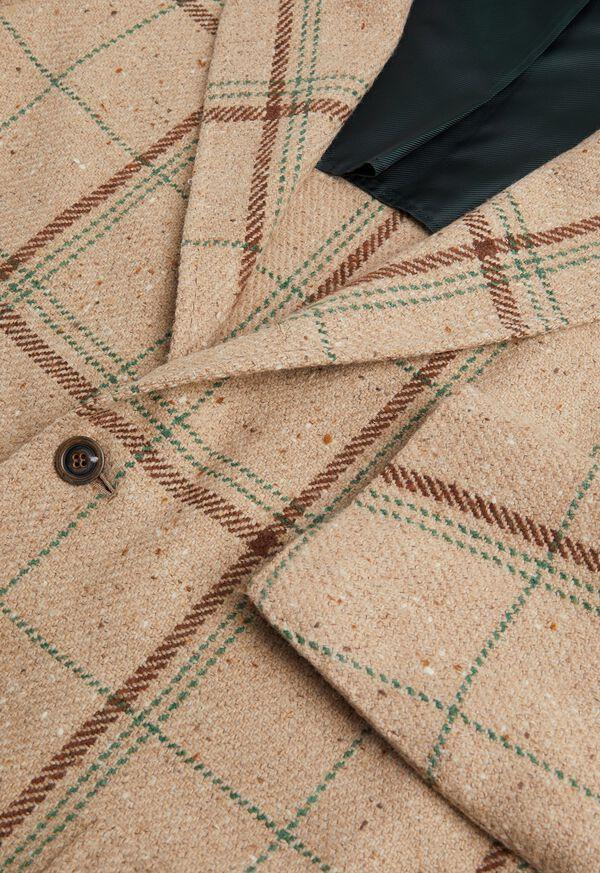 Tan Plaid Jacket, image 2