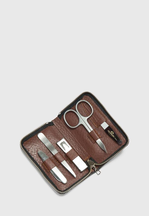 Deerskin Leather Manicure Set, image 2