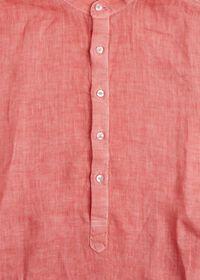 Linen Short Sleeve Popover, thumbnail 5
