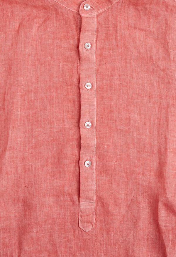 Linen Short Sleeve Popover, image 5
