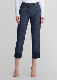 Denim Pant with Cuff Detail, thumbnail 1