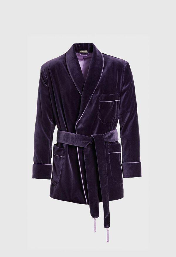 Velvet Smoking Jacket, image 1