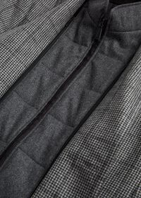 Houndstooth Travel Jacket and Built-in Vest, thumbnail 3