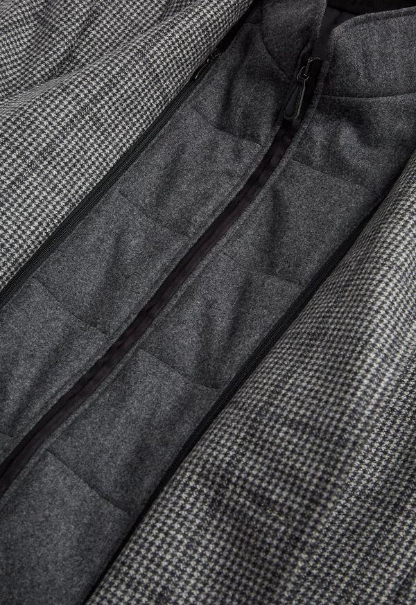 Houndstooth Travel Jacket and Built-in Vest, image 3