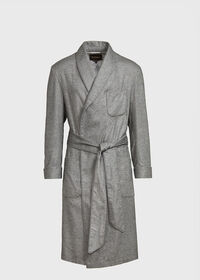 Cashmere Robe with Silk Paisley Lining, thumbnail 1