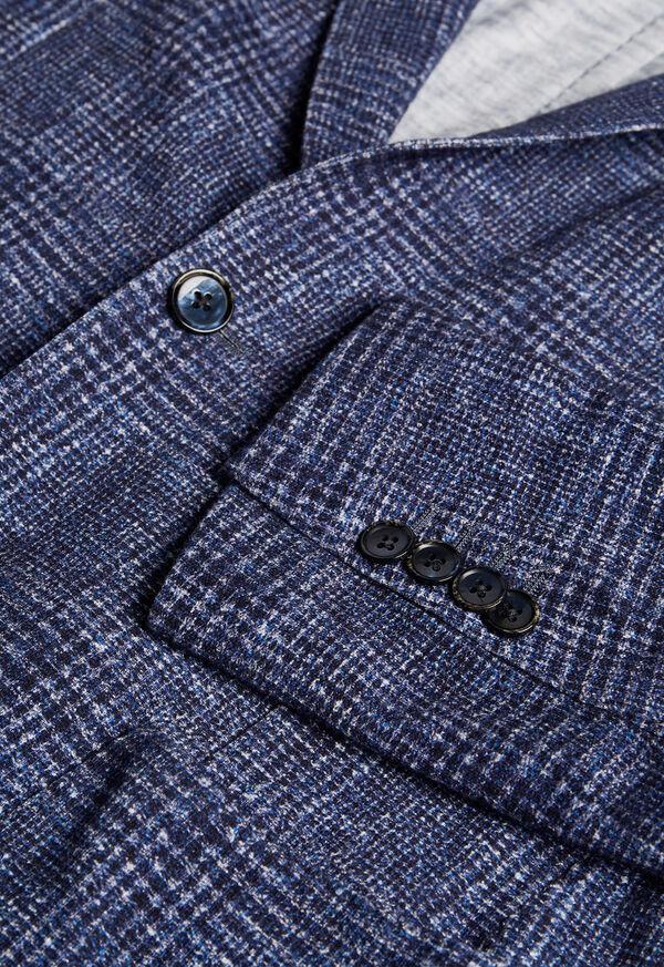 Plaid Printed Jersey Soft Jacket, image 2