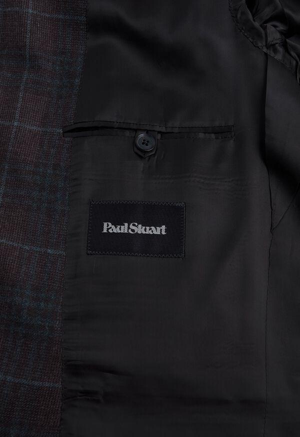 Paul Fit Brown Plaid Wool Blend Sport Jacket, image 3