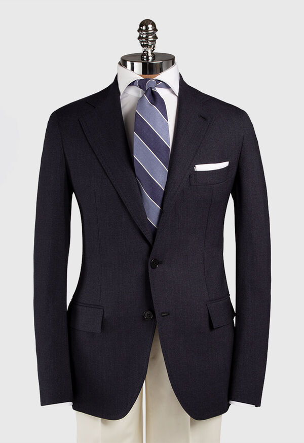 Solid Wool Blazer, image 3
