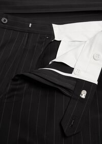 Black and White Chalk Stripe Suit, thumbnail 6