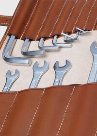 Vintage Bridle Leather Tool Kit, thumbnail 3