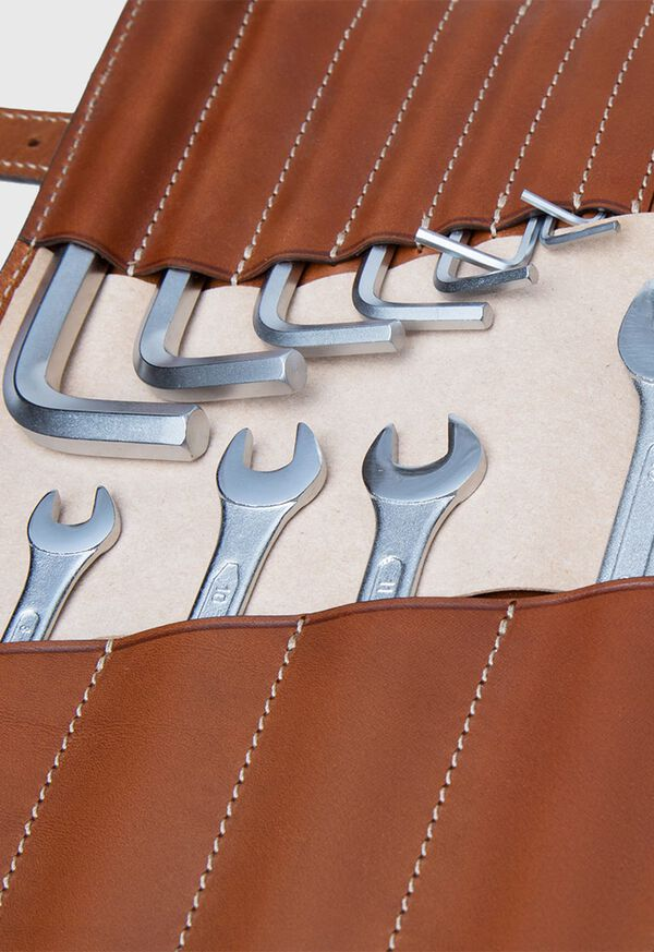 Vintage Bridle Leather Tool Kit, image 3