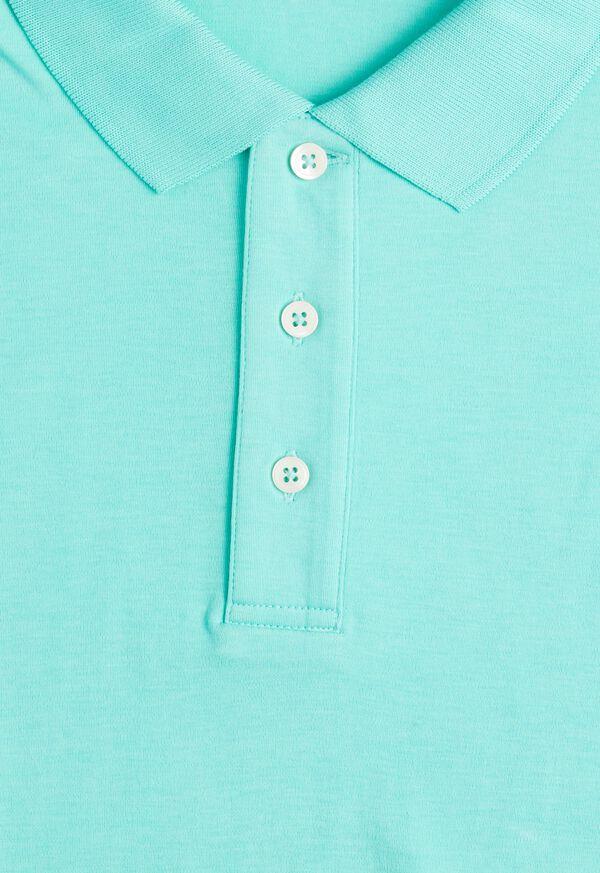 Pima Cotton Interlock Polo, image 17