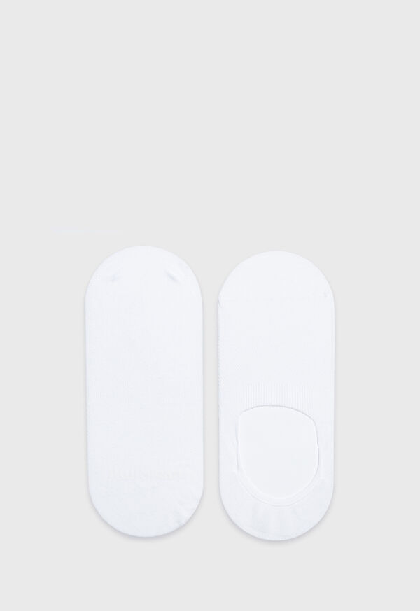 Solid Cotton Blend Invisible Socks, image 1