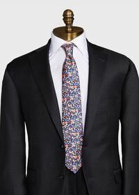 Allover Floral Tie, thumbnail 2