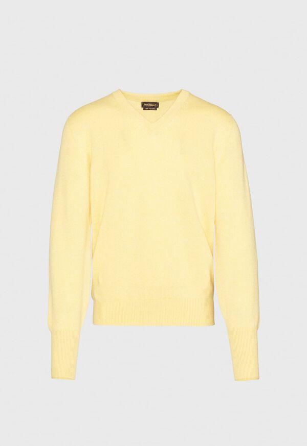 Scottish Cashmere V-Neck Sweater, image 1