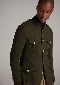 Military Style Jacket, thumbnail 2