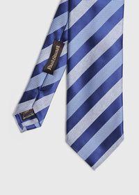 Oxford and Satin Stripe Tie, thumbnail 1