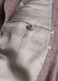 Soft Color Herringbone Sport Jacket, thumbnail 3