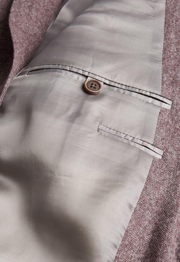 Soft Color Herringbone Sport Jacket, image 3