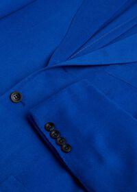 Royal Blue Cashmere Soft Jacket, thumbnail 3