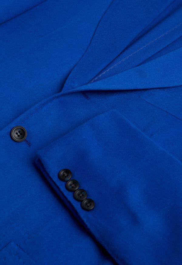 Royal Blue Cashmere Soft Jacket, image 3