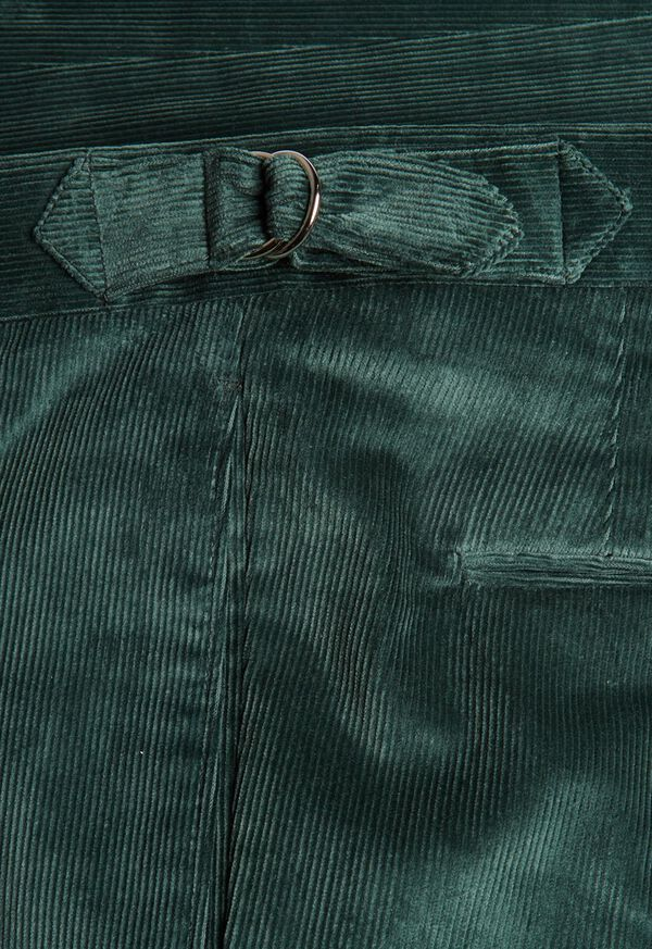 Flat Front Corduroy Trouser, image 3