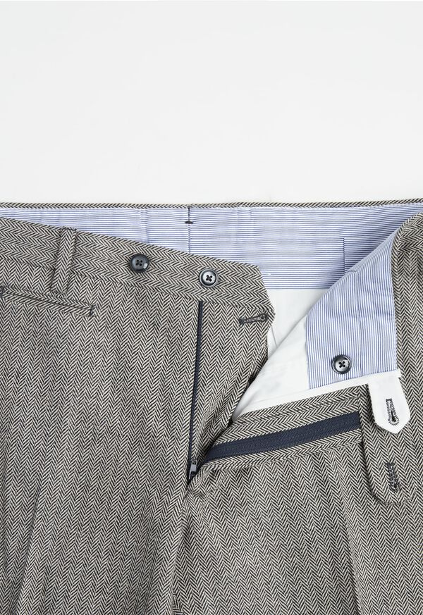 Wool Dress Pant with Coin Pocket, image 2