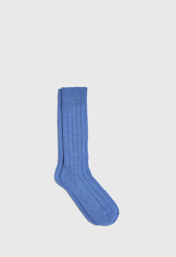 Cashmere Blend Ribbed Sock