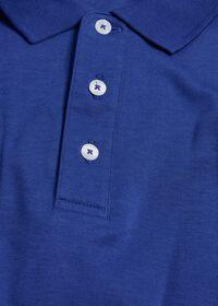 Pima Cotton Interlock Polo, thumbnail 2