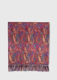 Master Paisley Print Silk Scarf, thumbnail 2