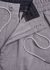 Solid Linen Blend Pant, thumbnail 2