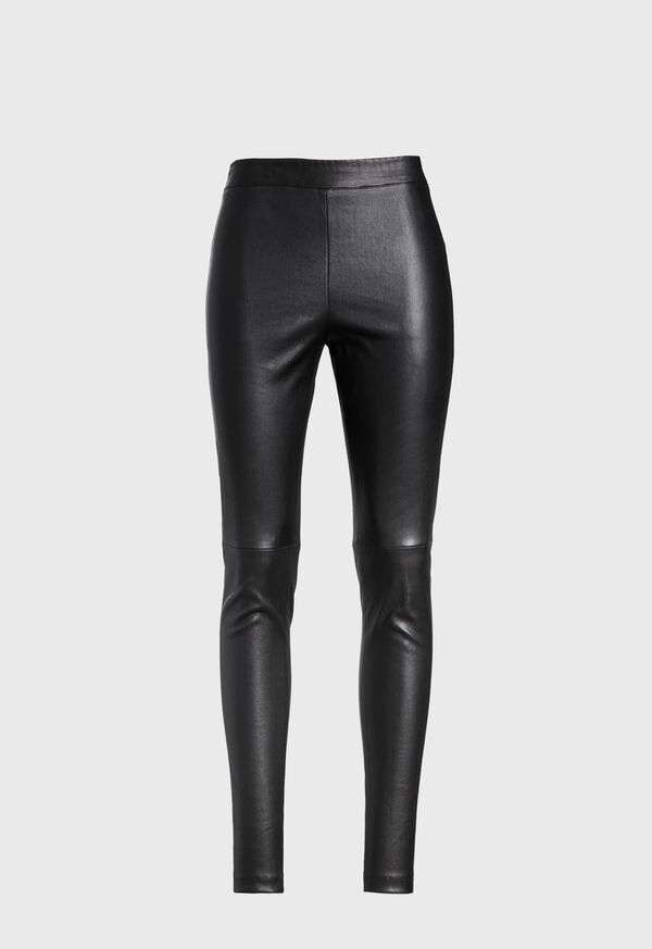 Stretch Leather Legging, image 1