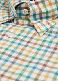 Brushed Flannel Check Sport Shirt, thumbnail 2