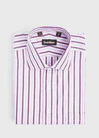 Pink Wide Stripe Dress Shirt, thumbnail 1