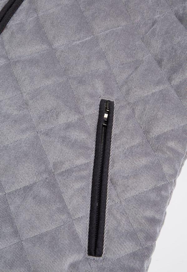 Water Repellent Corduroy Quilted Vest, image 3