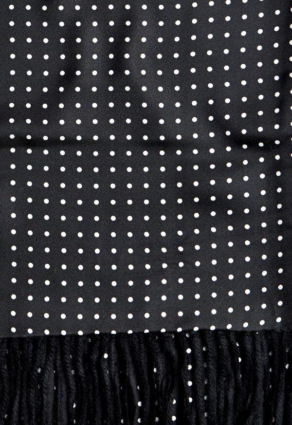 Reversible Dot Print Scarf, image 2