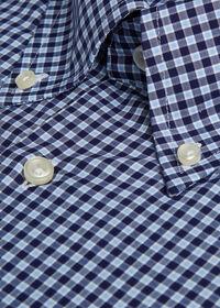 Cotton Check Sport Shirt, thumbnail 3
