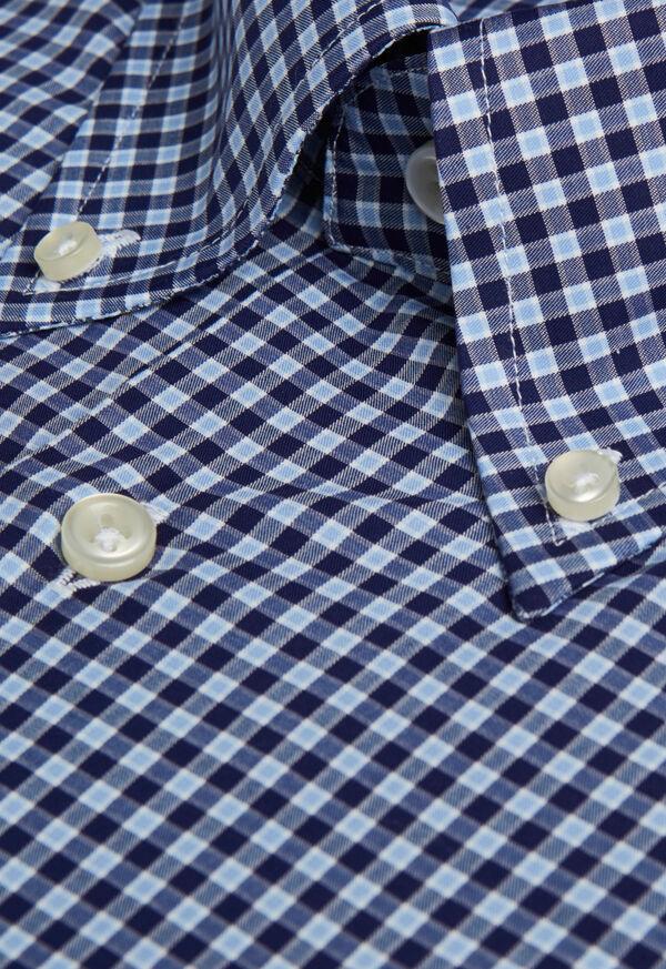Cotton Check Sport Shirt, image 3