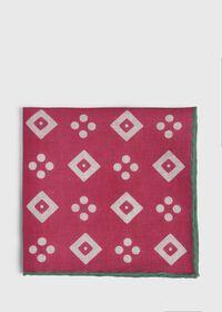 Linen Medallion Pocket Square, thumbnail 2