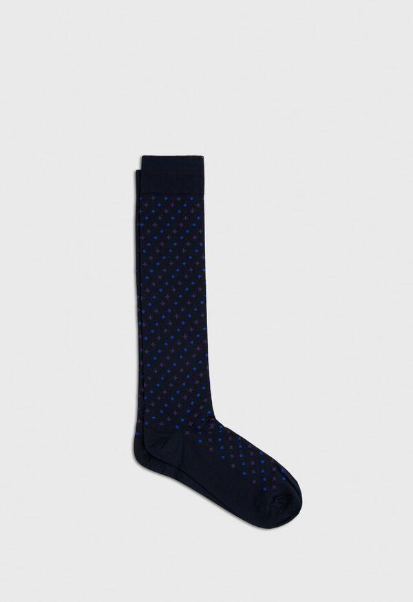 Cotton Blend Mini Neat Sock, image 1