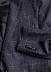 Wool Windowpane Sport Jacket, thumbnail 3