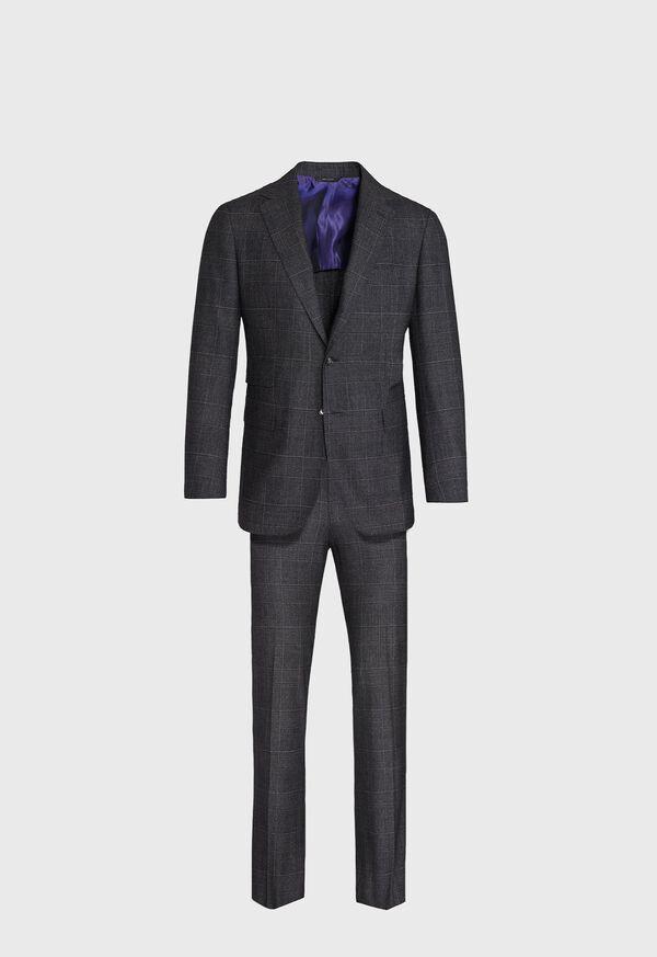 Grey Plaid Suit, image 1