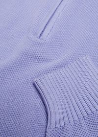 Pique Stitch 1/4 Zip Sweater, thumbnail 2