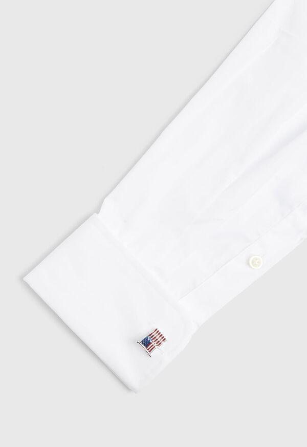 Enameled American Flag Cufflinks, image 3