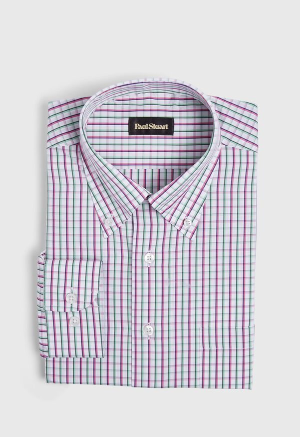 Plaid Sport Shirt, image 1