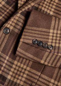 Soft Shoulder Wool Blend Plaid Sport Jacket, thumbnail 3