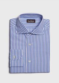 Stuart's Choice Cotton Striped Dress Shirt, thumbnail 1